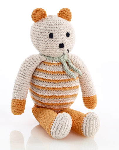b419d04ceb0 PEBBLE ΑΡΚΟΥΔΑ ΚΟΥΔΟΥΝΙΣΤΡΑ Organic bear-soft orange
