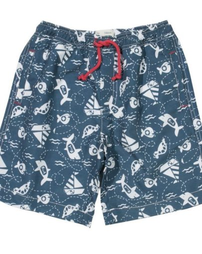 ec7583b9ade KITE ΜΑΓΙΟ Hungry Fish Swim Shorts